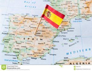 spain-flag-map-paper-pin-36255106